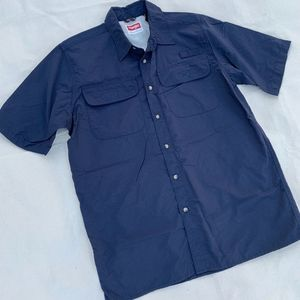 Wranglers Quick-Dry Short Sleeve Outdoor Shirt M